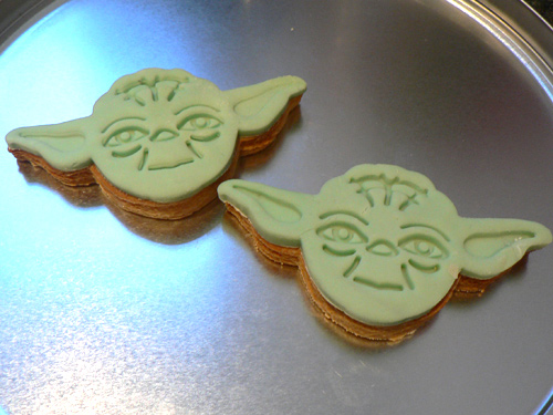 Star Wars Cookies Cakey Goodness