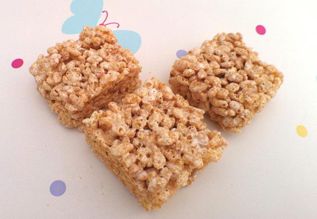 Marshmallow Treats - Cakey Goodness