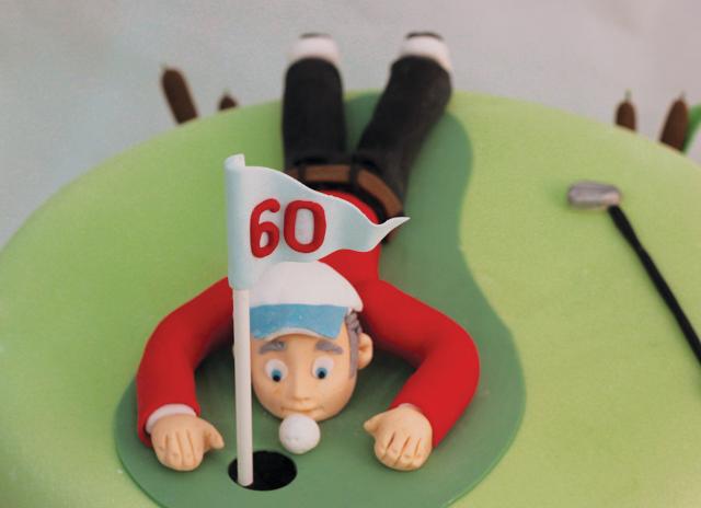 Golf Cake Cakey Goodness