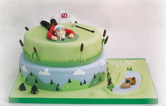 Golf Themed Cakes Recipes