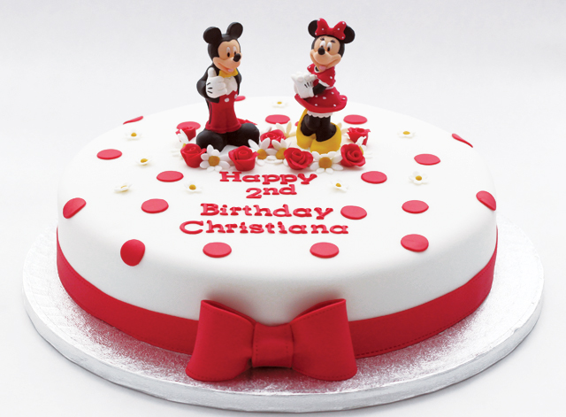 Minnie Mickey Mouse Cake Cakey Goodness