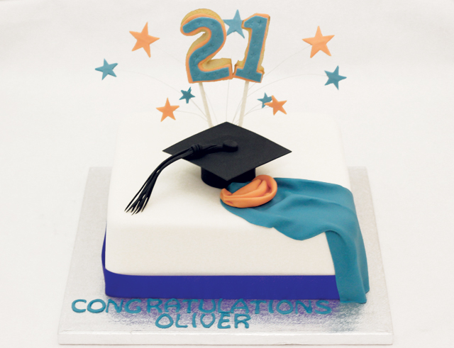 Graduation21st Birthday Cake Cakey Goodness