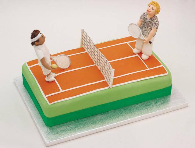 Tennis Cake Cakey Goodness