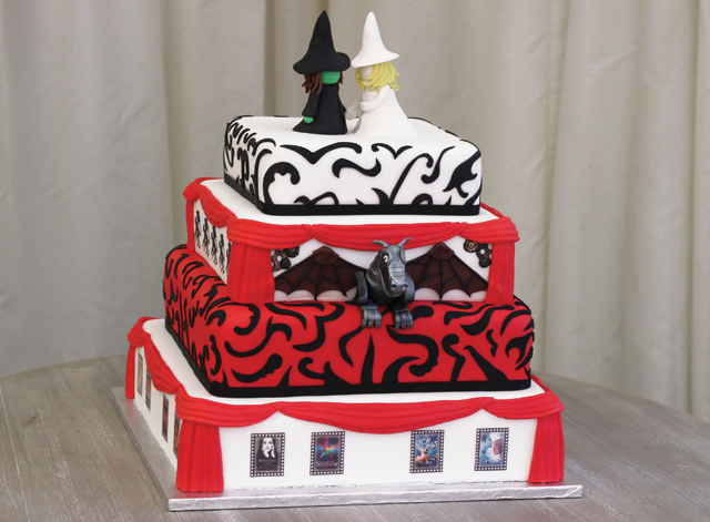 Wicked Cake Topper