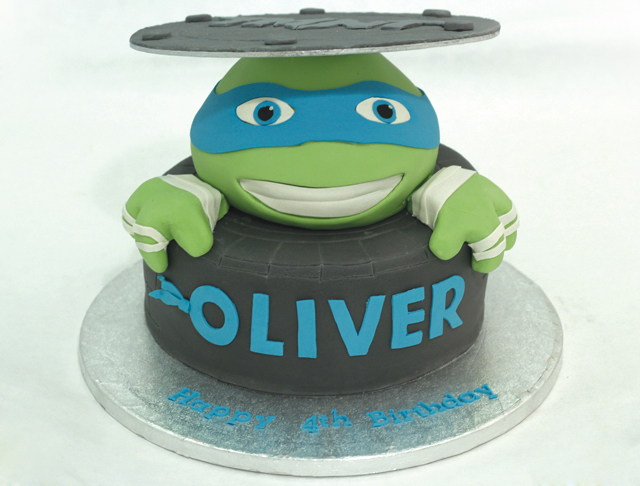 Teenage Mutant Ninja Turtle Cake Cakey Goodness