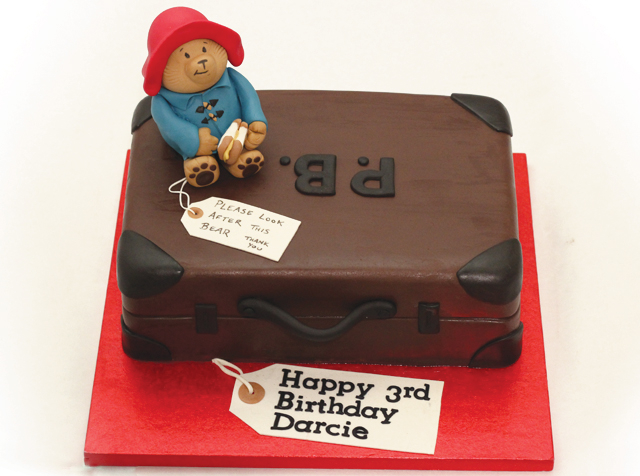 Paddington Bear Cake Cakey Goodness