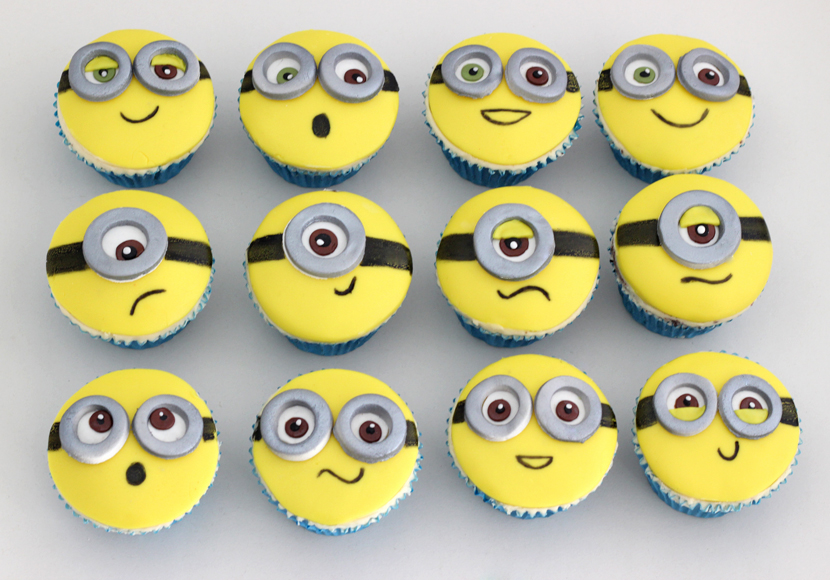 Minion Cupcakes Cakey Goodness
