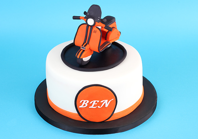 Scooter-Cake