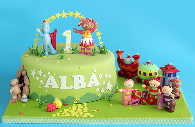 In the night garden cake iggle piggle 1st birthday cake for In the night garden cakes designs