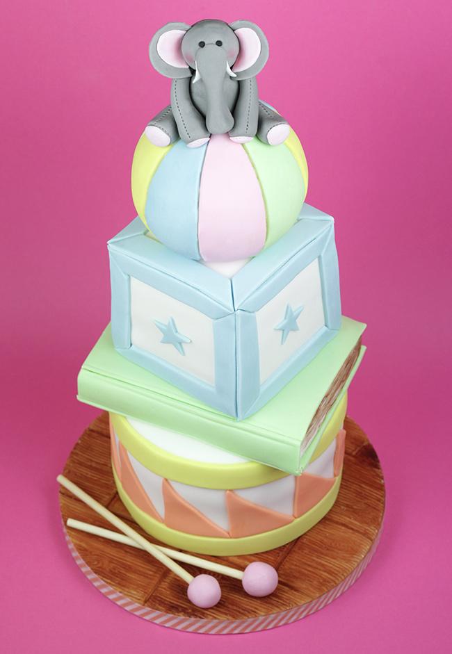 Baby-Shower-Cake---Elephant