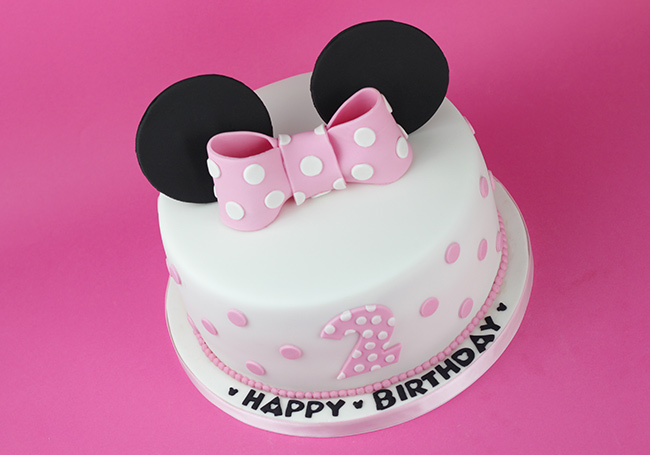 Where To Order A Minnie Mouse Birthday Cake