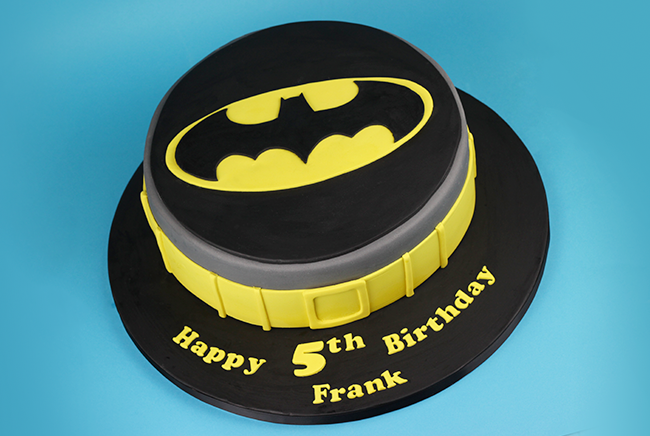 Batman 5th Birthday Cake Cakey Goodness