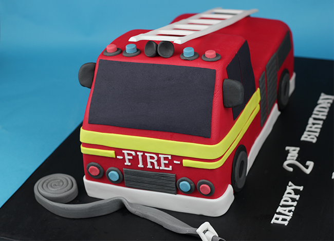 Fire Engine Cake Cakey Goodness
