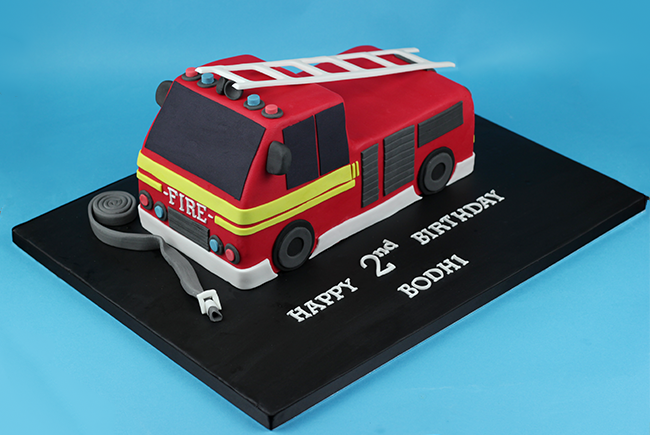 Fire Engine Birthday Cake Images