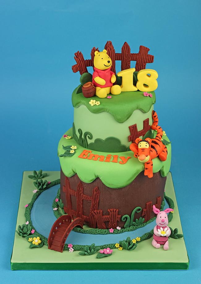 Winnie The Pooh Birthday Cake Topper