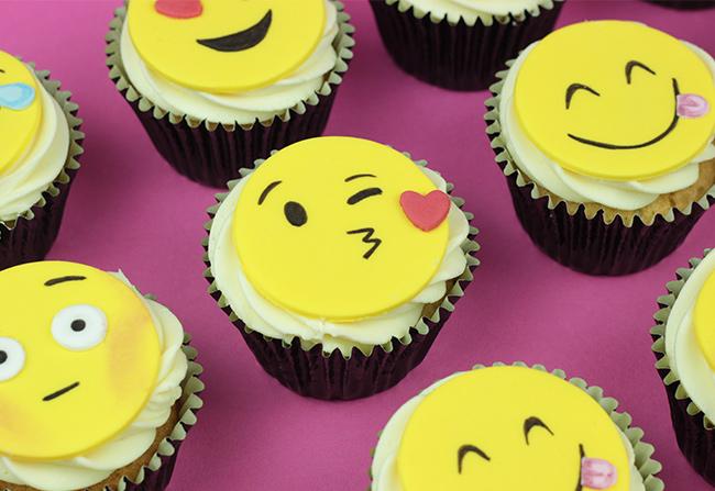 Emoji Cupcakes Cakey Goodness