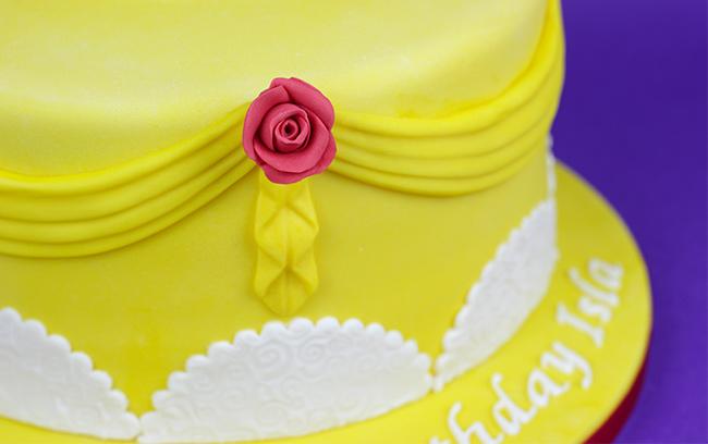 Enchanted Rose Cake Cakey Goodness