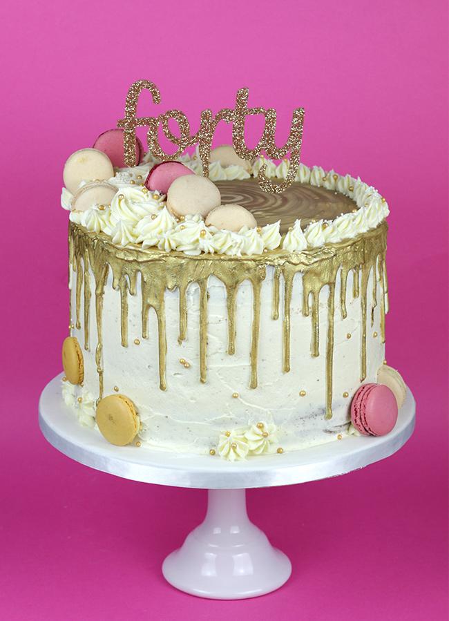 Chocolate Cake With Vanilla Buttercream Uk