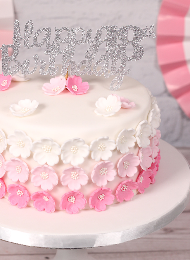 Pink-Ombre-Flower-Cake-3