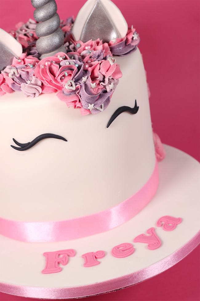 Unicorn Cake Cakey Goodness