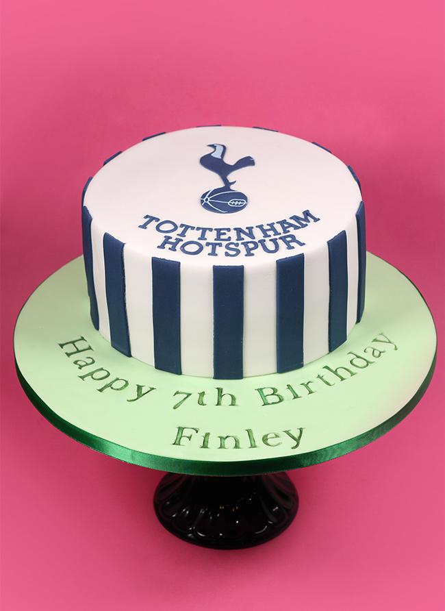 Tottenham Hotspur Cake Cakey Goodness