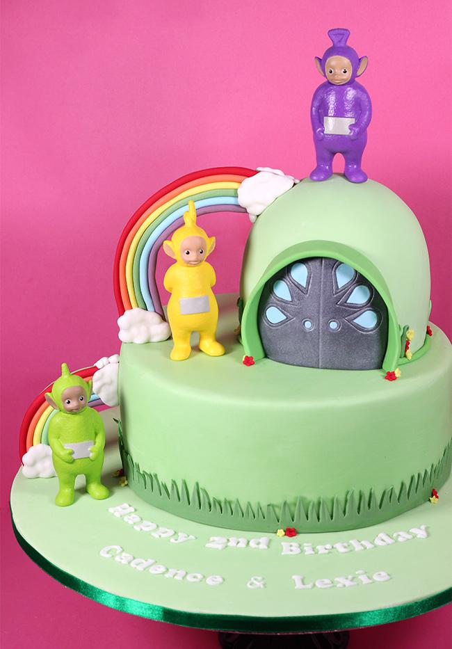 Teletubbies Cake Cakey Goodness