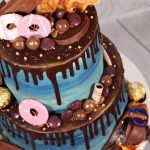 Chocolate & biscuit overload chocolate drip cake