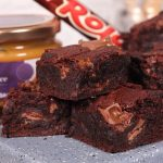 Salted Caramel & Rolo Chocolate Brownies