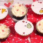 Kawaii Valentines Cupcakes