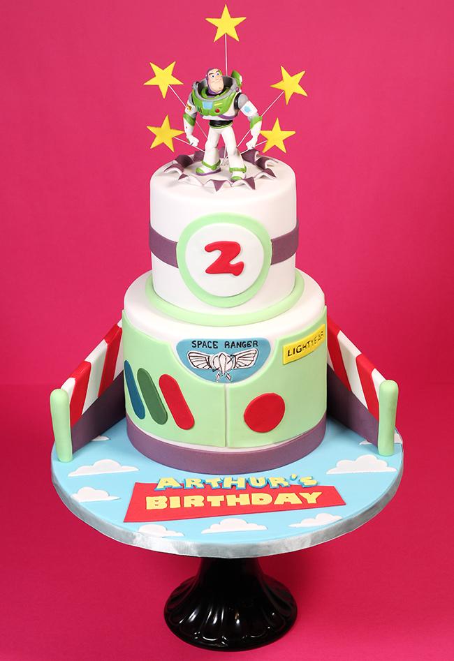 Buzz Lightyear Cake Cakey Goodness