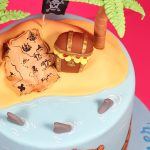 Pirate Treasure Island Cake