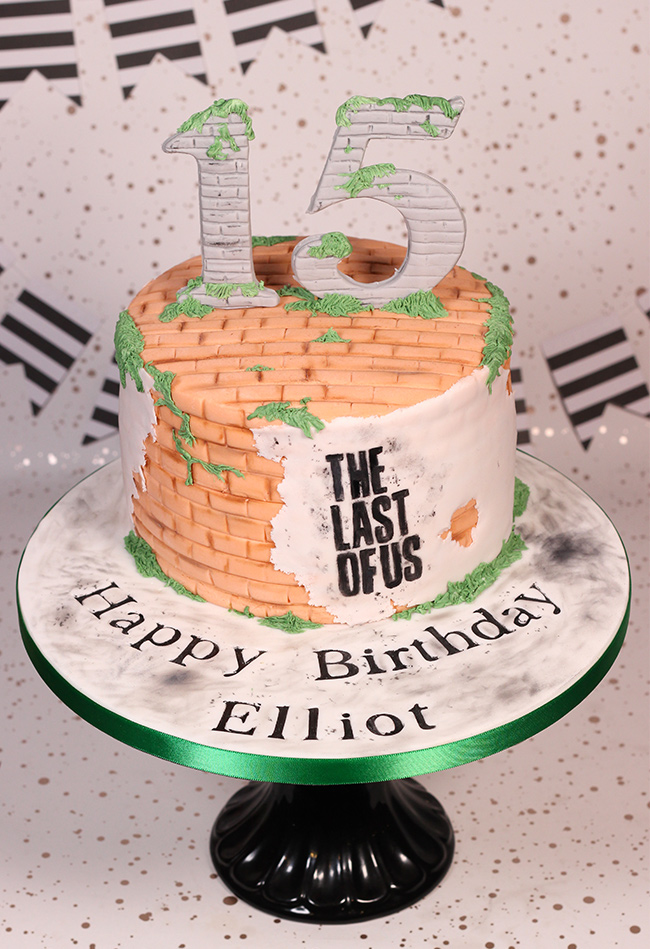 The Last Of Us 15th Birthday Cake Cakey Goodness