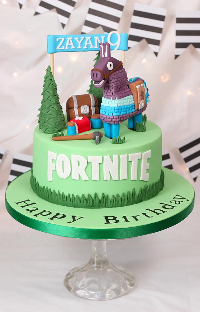 Fortnite Cake Cakey Goodness