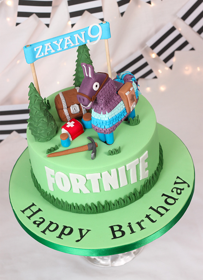 Fortnite Cake Cakey Goodness You must dance in front of 10 birthday cakes to get the cakey weapon wrap. cakey goodness