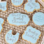 Baby Shower Iced Biscuits