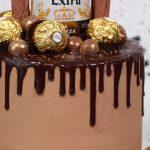 Beer Chocolate Drip Cake