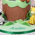 Safari 1st Birthday cake