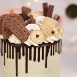 Biscuit Overload Choc Drip Cake