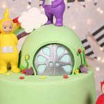 Teletubbies 2nd Birthday cake