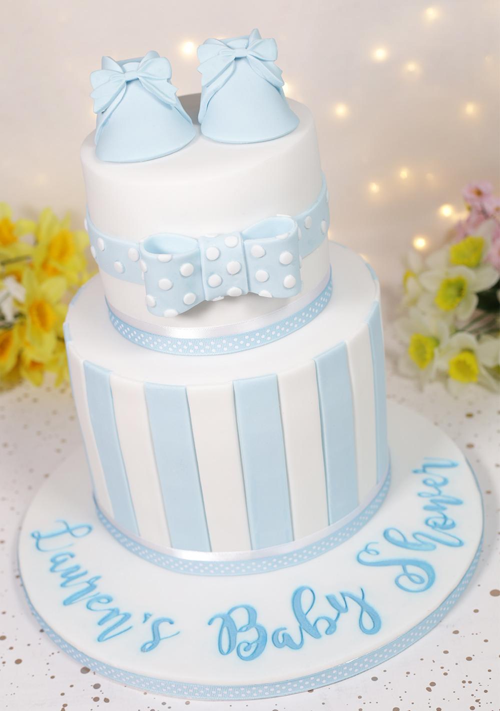 Baby Boy Baby Shower Cake Cakey Goodness