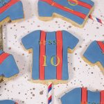Barcelona Football shirt biscuit pops