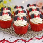 Minnie Mouse Inspired Cupcakes