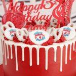 Liverpool FC Drip Cake