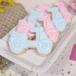 Scooter Iced Biscuit Wedding Favours