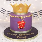 Disney Descendants inspired cake