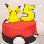 Cute Pikachu inspired cake
