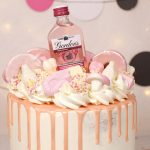 Sweeties overload Rose Gold Drip Cake