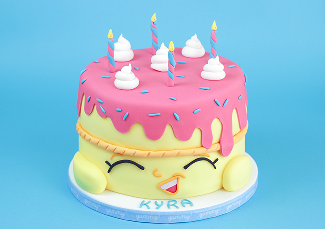 Shopkins Cake Cakey Goodness