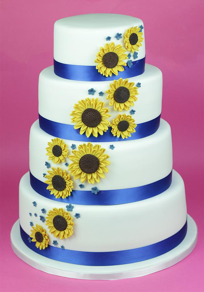 Sunflowers-Wedding-Cake-3