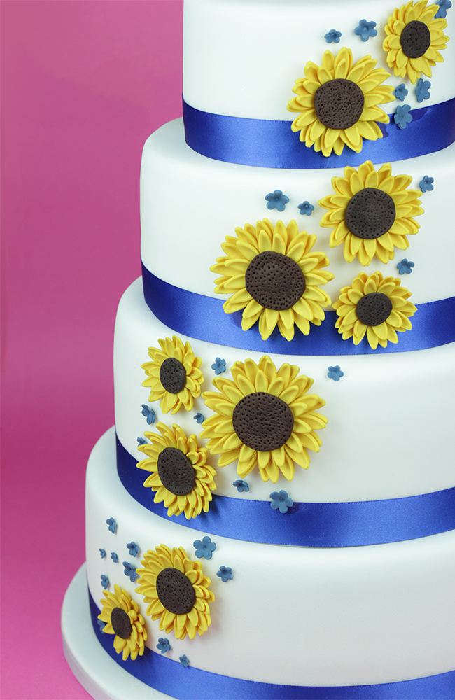 Sunflowers-Wedding-Cake-4